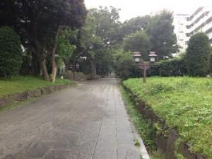 大宮氷川神社参道